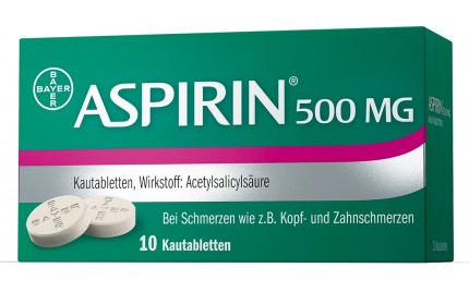 aspirin kautabletten 500mg die blaue apotheke kierling. Black Bedroom Furniture Sets. Home Design Ideas