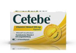 Cetebe Vitamin C retard Kapseln 500mg