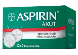 Aspirin Akut Brausetabletten 500mg