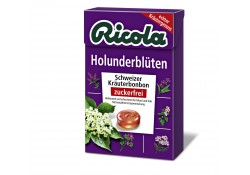 Ricola Holunderblüten zuckerfrei Box