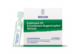 Euphrasia D 3 Weleda Augentropfen Einz.