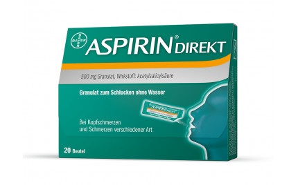 aspirin direkt granulat 500mg die blaue apotheke kierling. Black Bedroom Furniture Sets. Home Design Ideas