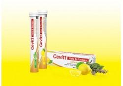 Cevitt Lutschtabletten Hals und Rachen Zitrone