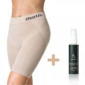 Marie Duo - Forming-Spray + Panty hautfarben Gr. L