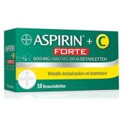 Aspirin +C Forte Brausetabletten