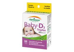 Jamieson Baby-D™ 400 IU Vitamin D3 Tropfen