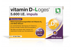 Vitamin D Loges 5.600 I.E. impuls Gel-Tabs