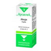 Apozema Allergie-Tropfen Nr.2